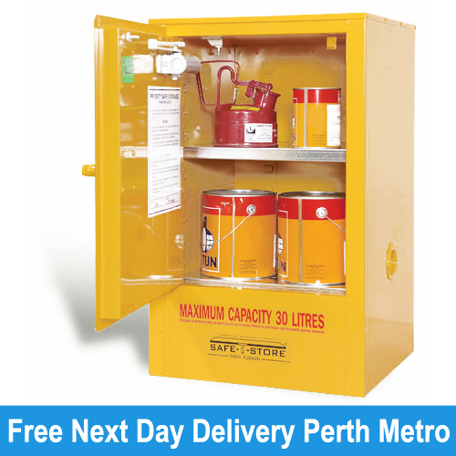 Picture Of Under Bench Flammable Cabinet Storage (30L) Perth ... Part 21