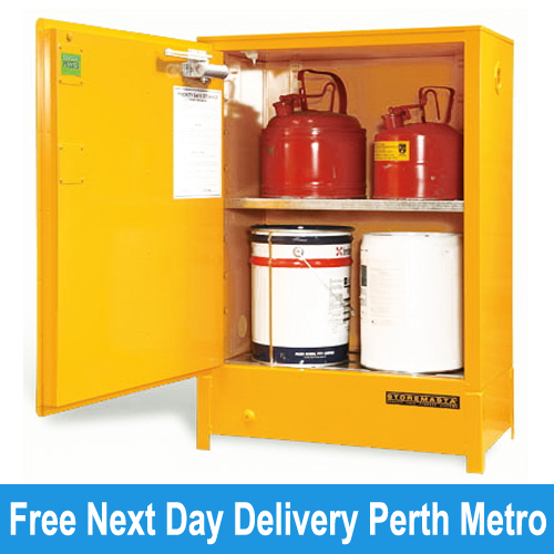 Picture Of Heavy Duty Flammable Storage Cabinet 80 Litres Perth ... Part 67