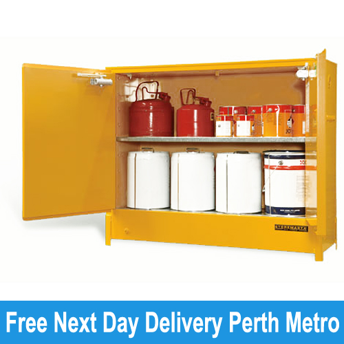 Picture Of Heavy Duty Flammable Storage Cabinet 160 Litres Perth ... Part 88
