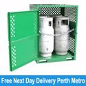 Picture of Gas Cylinder Storage cage for 4 x Type T Forklift Cylinders (Perth)