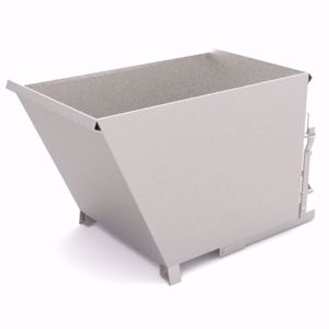 Picture of Tipping Bin Attachment for Forklift 1000kg 0.70m3 Capacity Perth