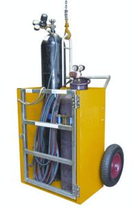 Picture of Welding Trolley for Oxy Acetylene Bottles (Perth)