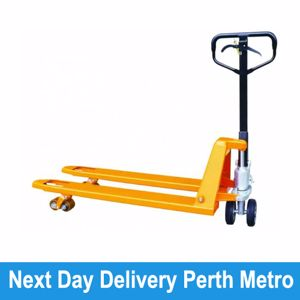 Picture of Pallet Truck with hand brake 520mm Width Perth