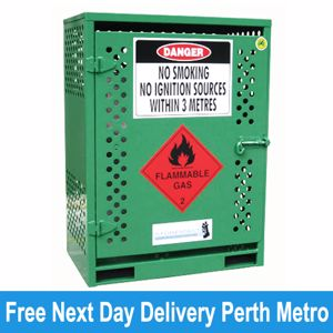 Picture of Gas Cylinder Storage cage for 2 x Type T Forklift Cylinders (Perth)