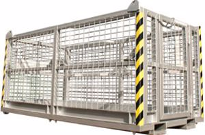 Picture of Crane Man Cages 6 Man No Roof (Perth)