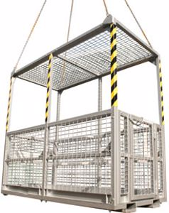 Picture of First Aid Rescue Man Cages 6 Man (with Roof)