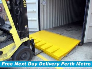 Picture of 8 Tonne Forklift Container Ramp Perth