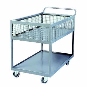 Picture of Half Basket Trolley 600mm x 90mm Perth