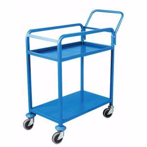Picture of 2 Tier Order Picking Trolley 420mm x 900mm Perth
