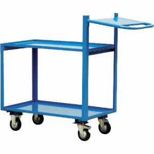 Picture of 2 Tier Order Picking Trolley 1000mm x 700mm Perth