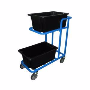 Picture of 2 Tier Tub Trolley 420mm x 950mm Perth