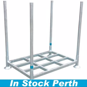Picture of Steel Pallet with Posts