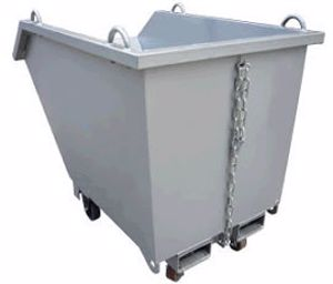 Picture of Crane Self Dumping Bin 0.9m3 1500kg Perth