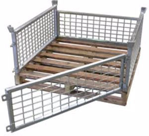 Picture of Half Size Pallet Cages (Flat Packed) Perth