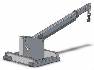 Picture of Tilt Jib Long Jib Attachment 270Kg Weight Perth