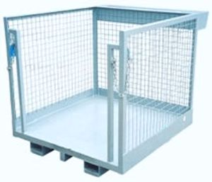 Picture of Forklift Order Picker Cage - Stock Picking Cage Perth