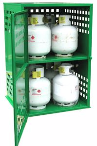 Picture of 8 x 9kg LPG Storage Cage Perth