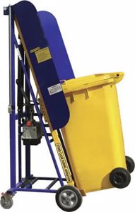 Picture of Wheelie Bin Lifter Manual Hand Pump (100kg) Perth