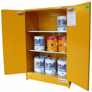 Picture of Flammable Storage Cabinet 350L with 2 Removable Shelves