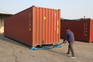 Picture of Shipping Container Skates / Container Trolley