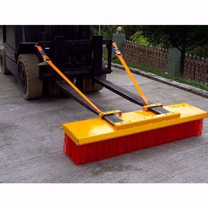 Picture of Forklift Broom 2400mm 8 x Bristle Rows Heavy Duty