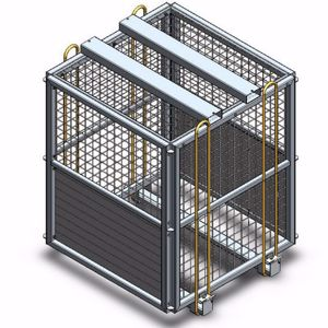 Picture of Block Cage / Brick Cage (Flat Packed) (Perth)